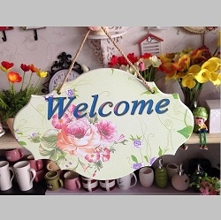 Bảng treo welcome lớn